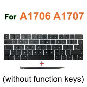 """Image 5 - Faishao nouvel ensemble complet pour Macbook Pro Retina 13 """"15"""" A1706 A1707 A1708 2016 2017 12 """"A1534 2017 UK clavier porte clés"""