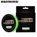 KASTKING Mega8 Brand 274M 8 strands Japan pe braided fishing line multifilament fishing Wire for all fishing 10-80lb
