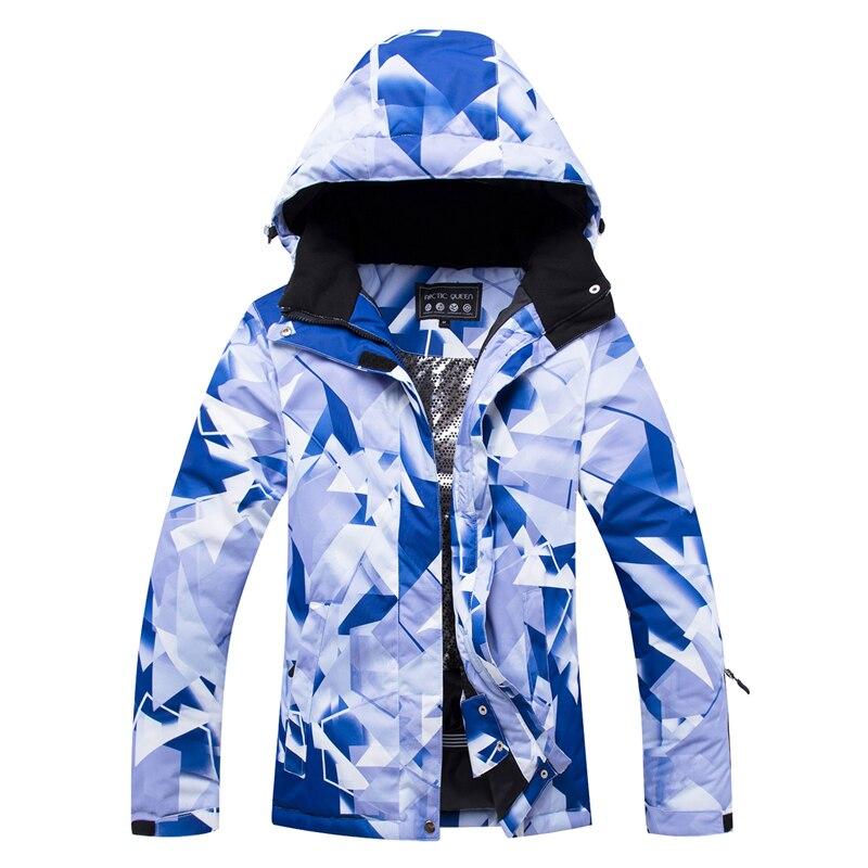 Veste de Ski femme ARCTIC QUEEN veste de snowboard femme vêtements de sport d'hiver veste de Ski de neige respirante imperméable coupe-vent - 5