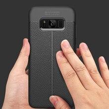 XinWen роскошный силиконовый чехол для телефона etui, coque, чехол, чехол для samsung galaxy s8 s 8 plus Мягкий ТПУ аксессуары протектор