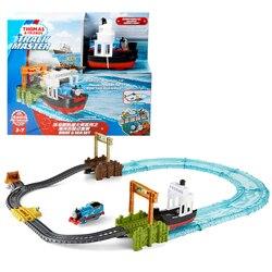Original Brand Thomas and Friends Carros Track Model Diecast  Cars Train Kids Plastic Metal Boys Toys for Children Juguetes