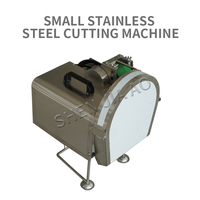 ZH Q305 Stainless Steel Small Vegetable Cutting Machine Central Kitchen Cutting Equipment Chopped Green Onion Machine 220V/110V