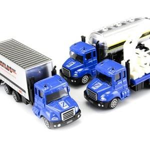 Image 4 - 1 個ミニおもちゃ車モデル合金ダイキャストエンジニアリング建設消防車救急車輸送車教育子供のギフト
