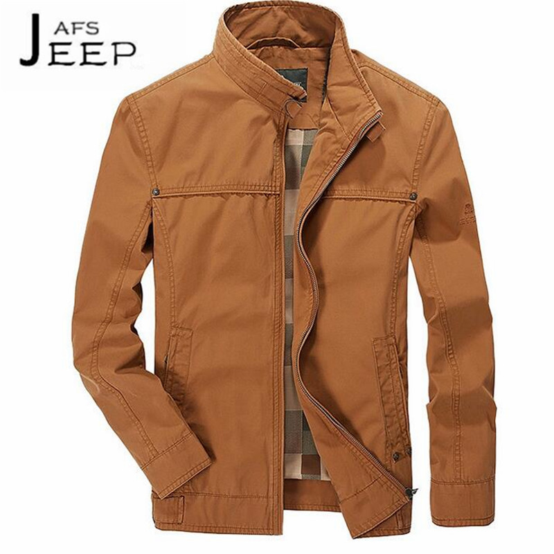 JI PU Wholesale Man's Military Cargo Solid JACKET,ORANGE Real mans leisure loose cardigan jackets,Cotton material lining wear