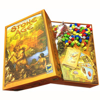 Super Classical Germany Board Game STONE AGE table games cards Chinese Version Indoor Entertainment