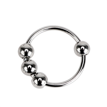 Gay Stainless Steel Sex Organ Silver Ring Sex Toy