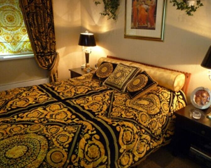 free shipping high quality luxury royal europe design imperial palace classic bedding blanket. Black Bedroom Furniture Sets. Home Design Ideas