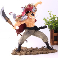 Anime One Piece Figure Action Edward Newgate Scultures The Tag Team 20th Whitebeard PVC Collection Model Toy Gift For Kids