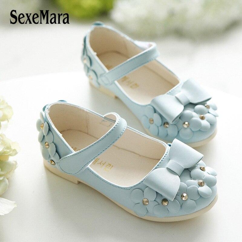 Children Shoes Girls Sandals Summer Princess Sandal Flowers Chaussure Fille  Rivets Children s Footwear For Girl Sandals A0108 5ce6799929d6