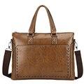 New Man Briefcases Men's Handbag Leather Business Messenger Bag Luxury Handbags Men Bags Designer Laptop Bag Portfolio LF660Z