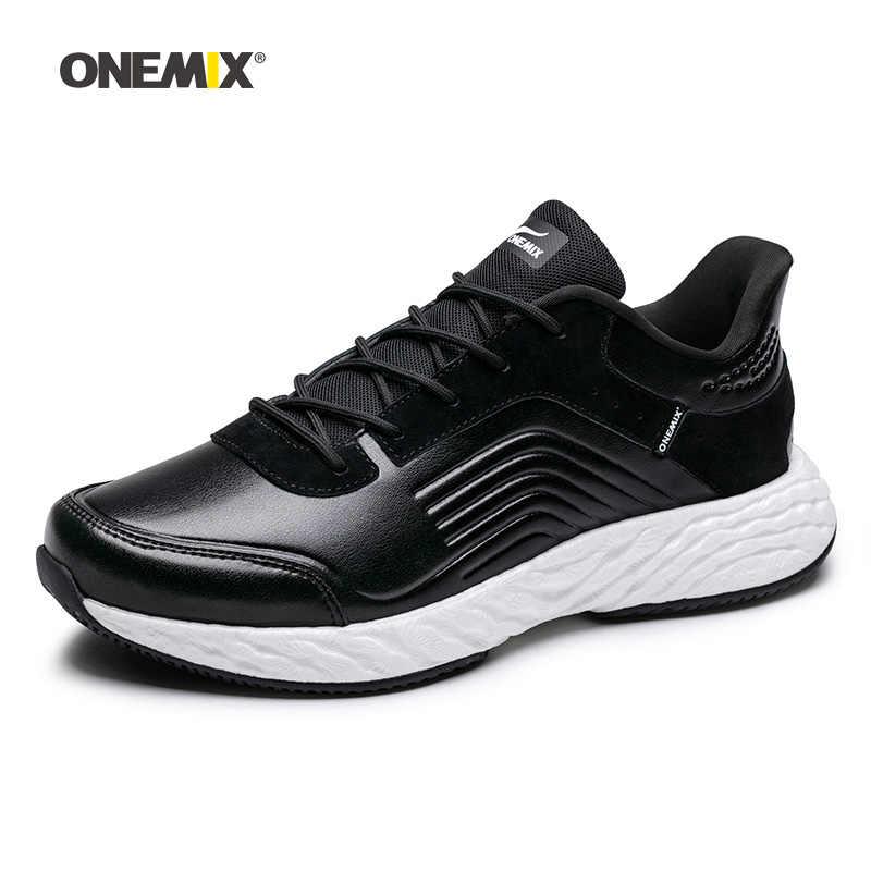 ONEMIX мужские кроссовки для бега для женщин Max Nice ретро для спортзала атлетики кроссовки черные Zapatillas Спортивная обувь мужские уличные Прогулочные кроссовки