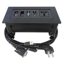 Руководство стол розетка с HDMI и VGA для Высокого Класса Конференц-Стол с VGA, аудио, HDMI, универсальный блок питания