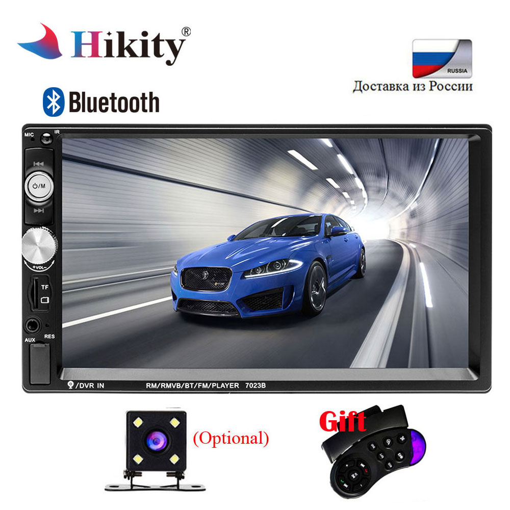 Hikity 2 Din Auto radio 7 HD font b Car b font Radio MP5 Player Touch