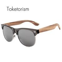Retro Classic REVO Polaroid Mirror Sunglasses Men Club Master Bambu Oculos Women 1201