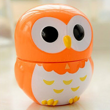 8.5*6.5cm Orange Cute Cartoon Owl Kitchen Timers 60 Minutes Cooking Mechanical Home Decoration Dial Timers High Quality