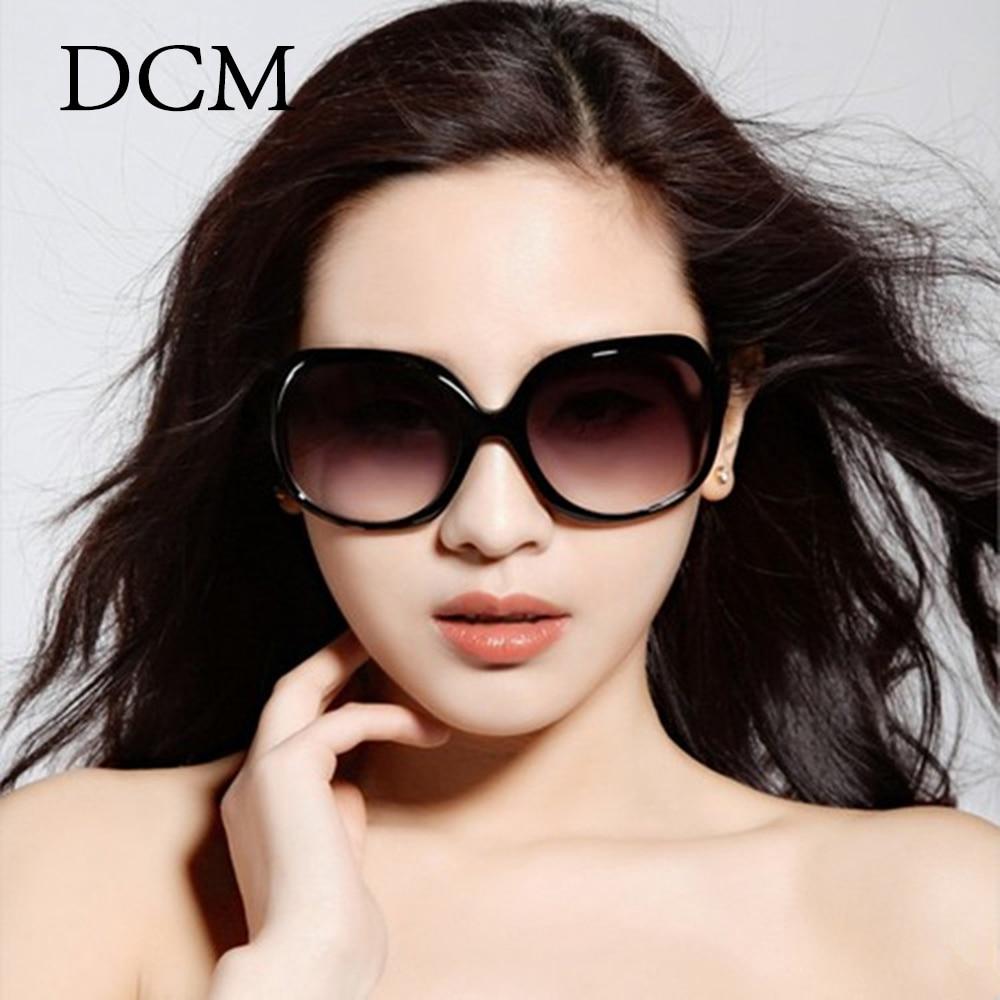 DCM mode femmes lunettes de soleil classique marque concepteur nuances surdimensionné ovale forme lunettes de soleil femmes UV400