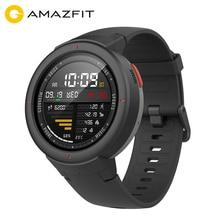 Xiaomi Huami Amazfit Verge Спорт Смарт часы 3 gps Bluetooth воспроизведения музыки вызова Ответ сообщение Push сердечного ритма мониторы