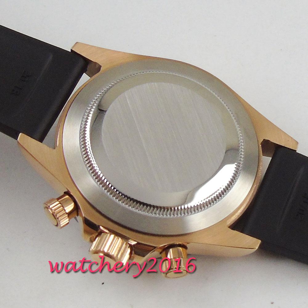 Parnis 39mm zegarki mechaniczne szafirowe mężczyzna zegarek 2019 zegarek kwarcowy relogio masculino rolę luksusowe zegarka mężczyzna w Zegarki kwarcowe od Zegarki na  Grupa 3