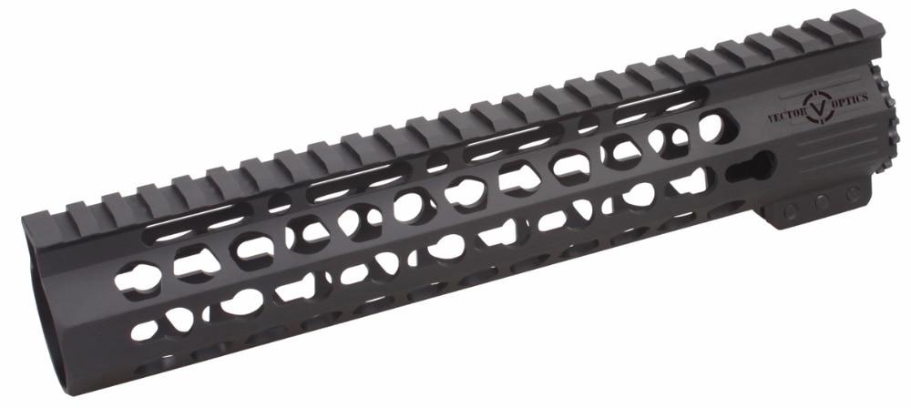 Tactische Ultra Slim KeyMod 7 10 12 15 17 inch Gratis Float Picatinny - Jacht - Foto 5
