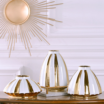Modern simple home decorations  porcelain vases Chinese vases large living roomscreative furnishings