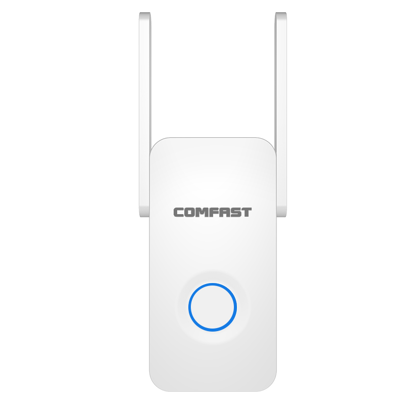 Image 2 - Comfast Home Wifi Repeater High Speed 1200 Wireless Range Extender Amplifier 2.4G&5Ghz Wifi Booster 2*3dbi Antenna CF WR752AC-in Wireless Routers from Computer & Office