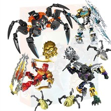 BionicleMask of Light XSZ 708 Children Lord Of Skull Spider Building Block Toys Compatible with Legoings Bionicle 70790 deblasio 70790