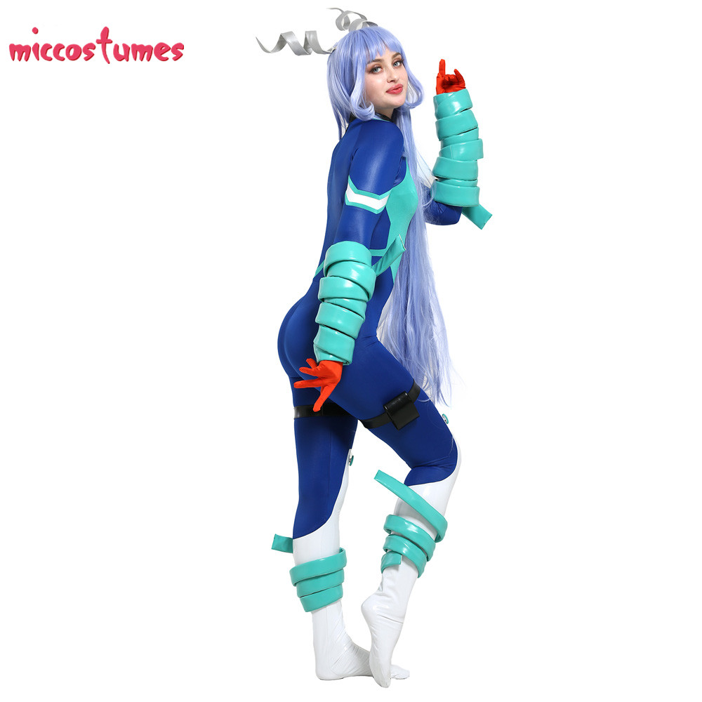 My Hero Academia Nejire Hado Costume Jumpsuit Cosplay Costume Fullset Woman Halloween Outfit