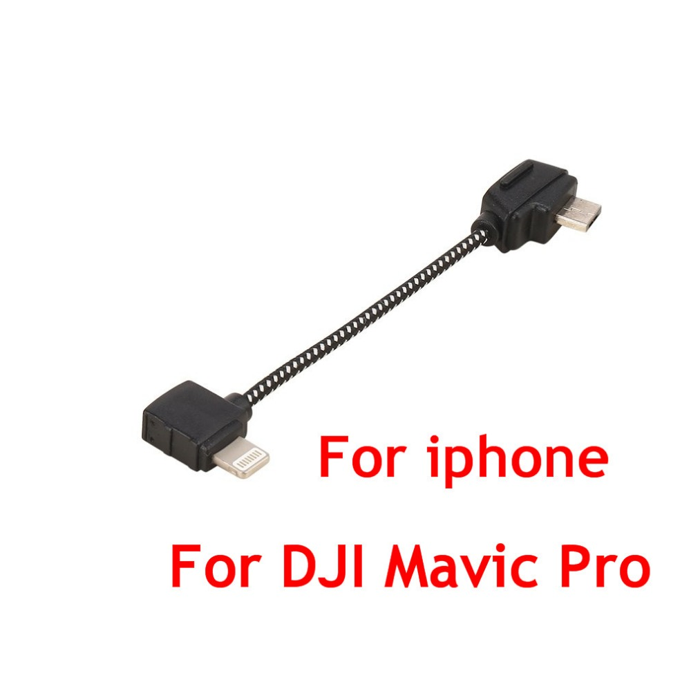 Remote Control Mobile Phone Data Connecting Cable for Apple for iPhone Connector Line For DJI Mavic Pro Accessories
