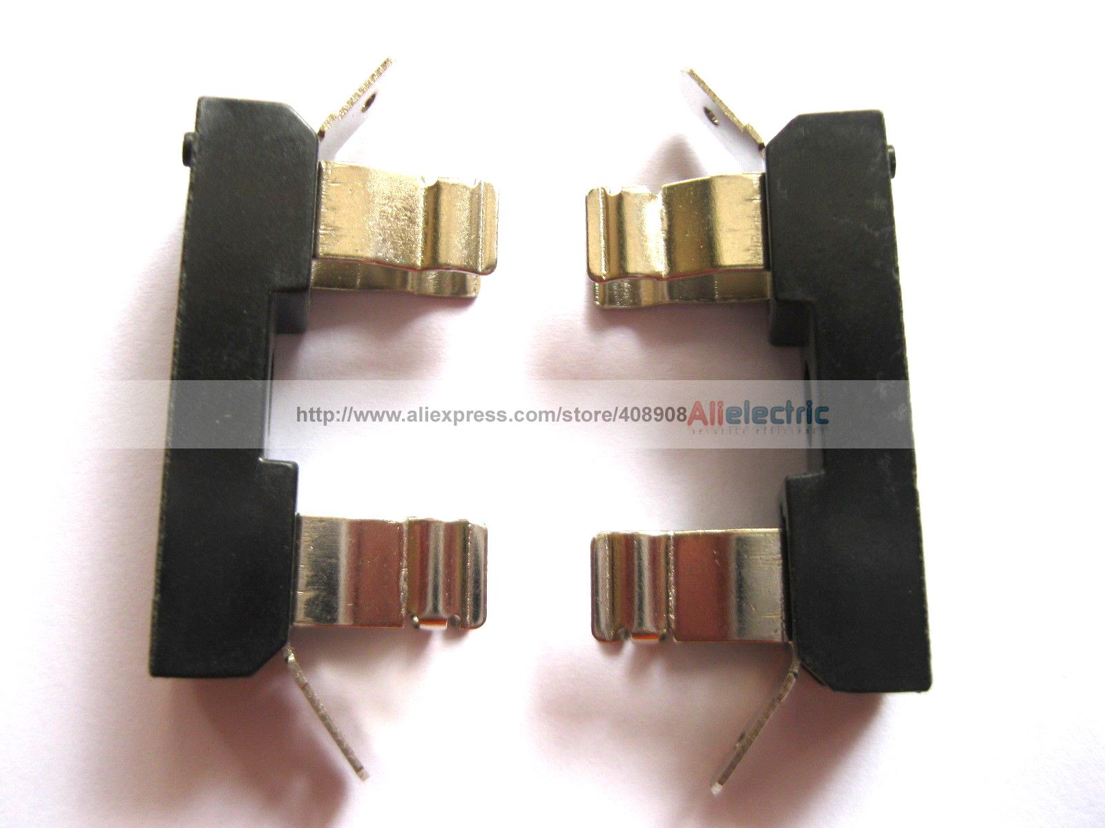 20 Pcs FH 30 30A 250V Fuse Holder Used for 6x30mm Fuse 20 pcs ry series metal 192 celsius 250v 10a cutoffs thermal fuse