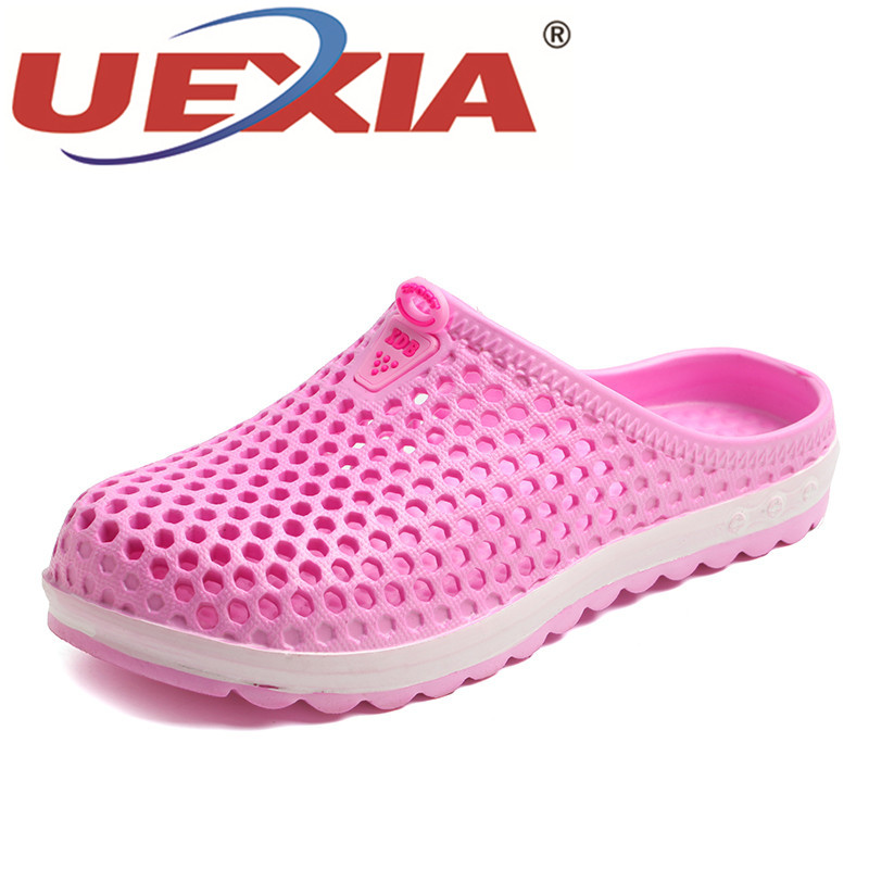 UEXIA 2018 Beach Slippers Breathable Summer Women Flip Flops Lightweight Massage Slippers Non-slide Zapatos Hombre Casual Shoe uexia 2018 beach slippers breathable summer women flip flops lightweight massage slippers non slide zapatos hombre casual shoe