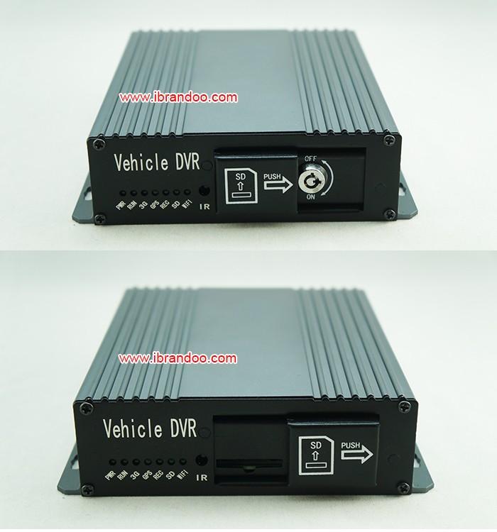 327 DVR slide panel protect SD and SIM