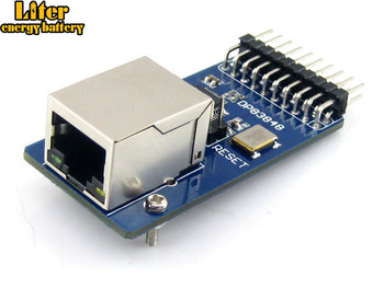 10pcs/lot Waveshare DP83848 Ethernet Board Module 10/100 Mb/s Ethernet Physical Layer Transceiver Control Web Server Module