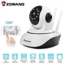ZGWANG HD 720 P беспроводная домашняя безопасность Wifi ip-камера сеть ночного видения камера сигнализация видеонаблюдения CCTV камера оптовая цена