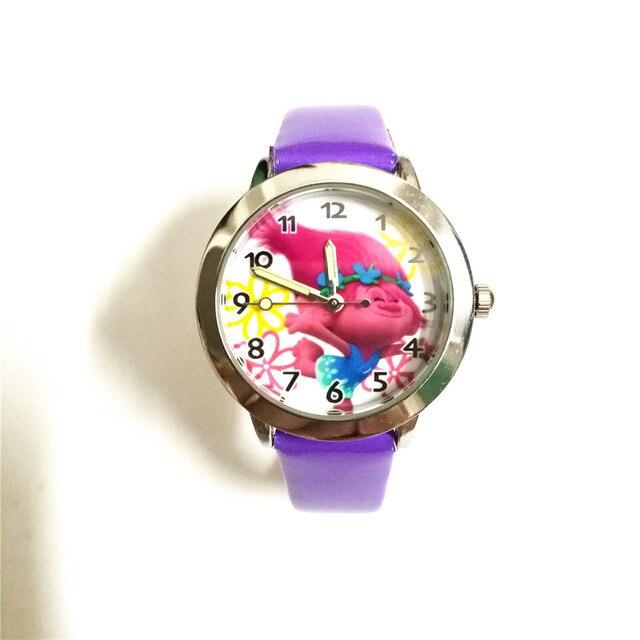 New Fashion Casual Quartz Wrist Watch Troll Watch Kids clock Boys student Gift W
