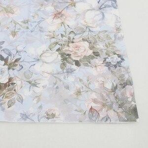 Image 5 - [RainLoong] drukowane serwetki z róży do papieru na imprezę i imprezę bibuła ozdobna Decoupage 33cm * 33cm 5 paczek (20 sztuk/paczka)