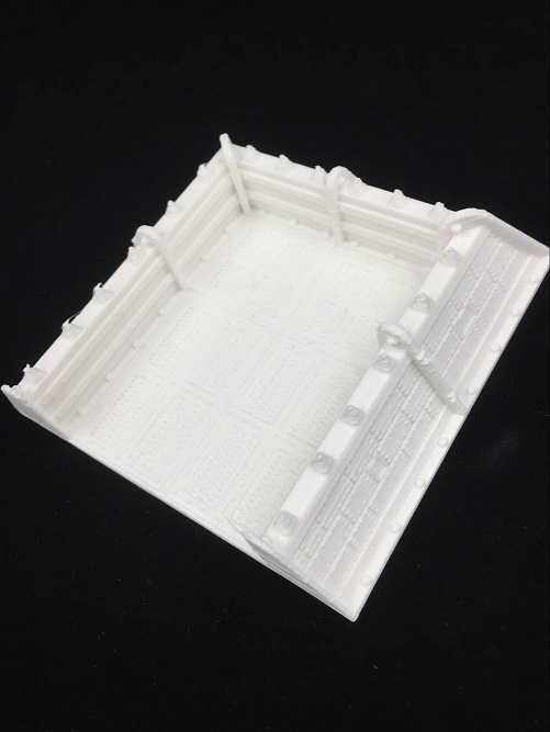 Board Gaming Accessories 3D Print 28mm Scifi Trenches DIY 12 Types 0.2mm Delicate Print  ...