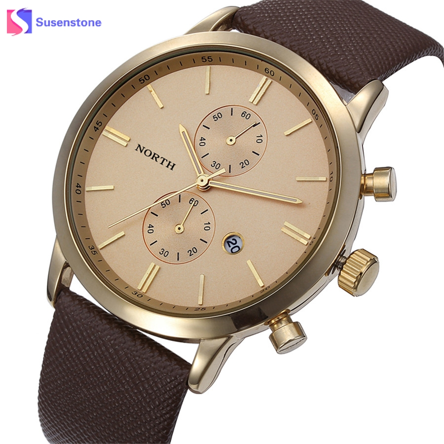 New 2017 Men Watch Luxury Brand Leather Strap Quartz-Watch Fashion Casual Men Date Business Wrist Watches reloj hombre relogio 2017 fashion men watches top brand luxury function date leather sport watch male business quartz wrist watch reloj hombre