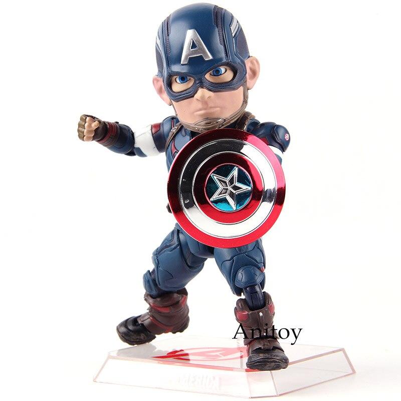Marvel Avengers oeuf attaque figurines Captain America EAA-011 6 pouces figurine bête royaume PVC modèle jouet poupée