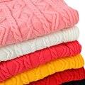 Nueva Venta Caliente 2014 de la Alta Calidad Del Otoño/Invierno Niños Suéter de Cuello Alto Bebé Niño/Niña Suéter Ropa de Los Cabritos