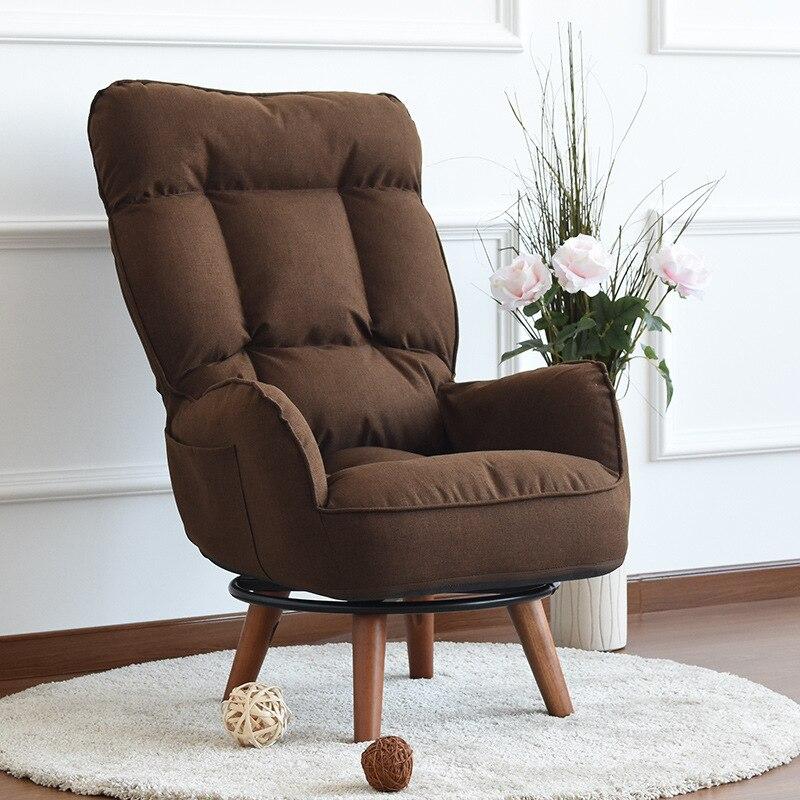 Fesselnd Zeitgenössische Swivel Accent Arm Stuhl Hause Wohnzimmer Möbel  Liege Klappsessel Sofa Niedrigen Drehstuhl Für Ältere