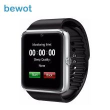 Smart Watches GT08 Bluetooth for iPhone Android Phone Smartwatches WristWatch Smart Electronics with Sim Card Push Messages