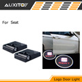 LED Car door logo projector light For seat ibiza 6l 6j leon 2 1 3 5f Alhambra Altea Exeo with seat emblem logo