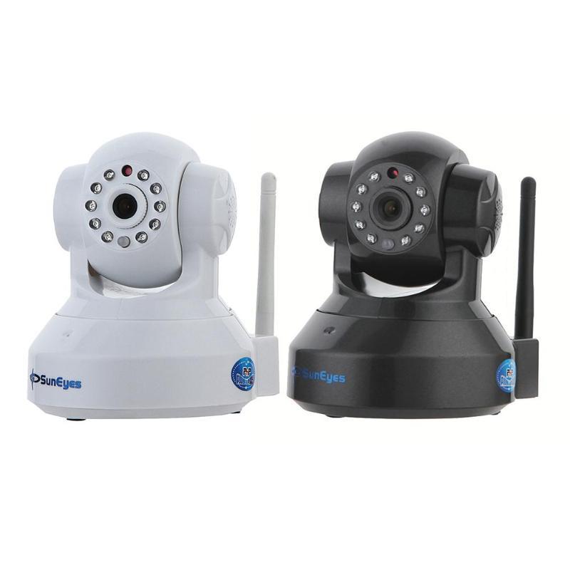SunEyes SP-TM01EWP Sans Fil WiFi 720 p 1MP HD IP Caméra Pan Tilt À Deux Voies Audio IR Nuit Vision Sécurité À La Maison webcam ONVIF et RTSP
