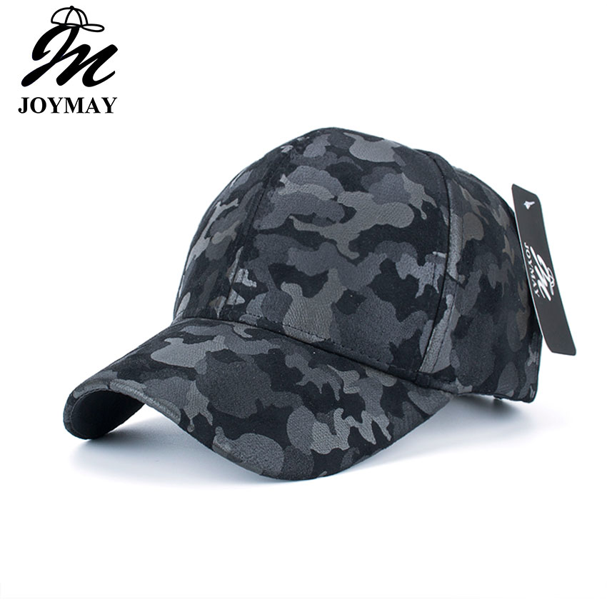 10ca51bbe07 JOYMAY Wholesale PU Fitted Hat Baseball Cap Casual Camouflage Dot casquette