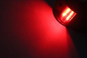 Image 5 - 1 zestaw 12 V łódź morska jacht światło nawigacyjne, czerwony, zielony, Port na prawą burtę światła żeglarstwo lampka sygnalizacyjna