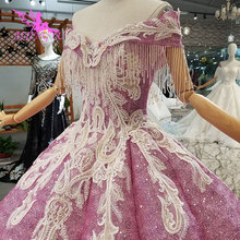 AIJINGYU ślubna sukienka z rękawami kości słoniowej sklep Bridals egipt Couture seksowna suknia Preowned suknie ślubne