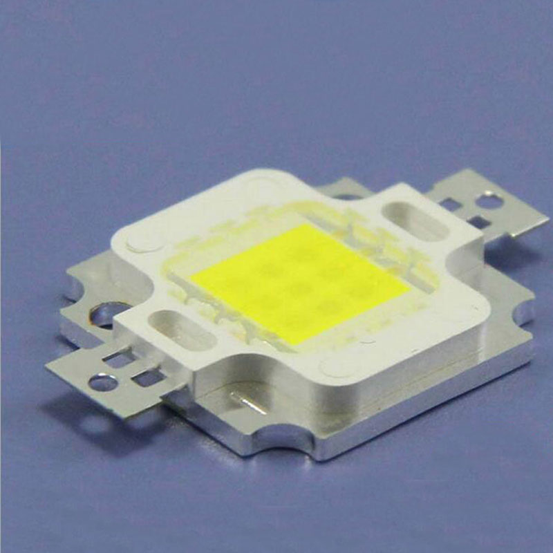 10w Integrated light source warm white high power super bright 10W LED light beads 10pcs