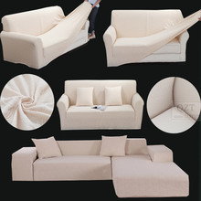 Case sofa cover jacquard stretch thincken modern corner couch for sectional leather l shaped sofa cover for home decor