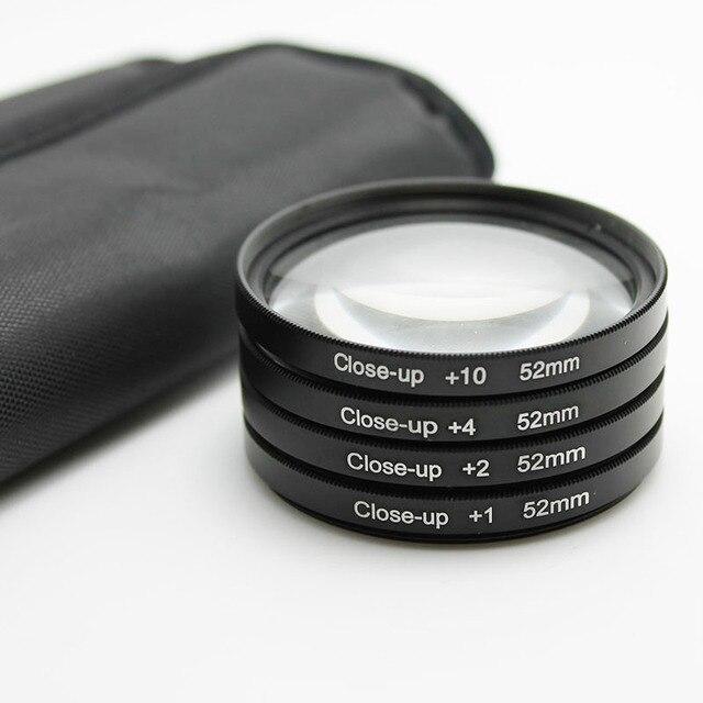 49mm 52mm 58mm 62mm 67mm 72mm Macro Close-Up Filtro de Conjunto (+ 1 + 2 + 4 + 10) para canon sony pentax réflex digitales nikon d7200 d5200 d3200 d3100