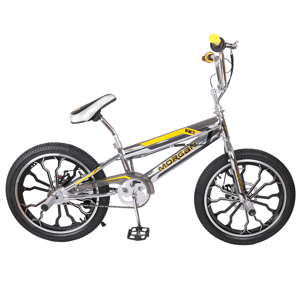 HILAND 20 ''BMX vélo Freestyle acier vélo vélo Double étrier frein spectacle vélo cascadeur vélo acrobatique - 3